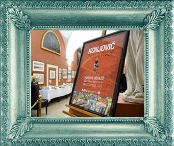 Konjović znovu v Praze – výstava obrazů, listopad 2012