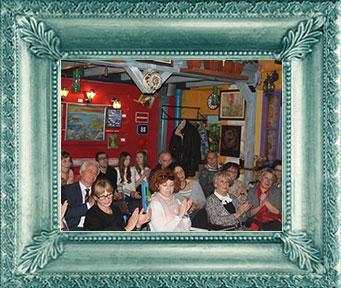 Poetický večer – vzpomínka na Velimira Velju Milošeivća, listopad 2014